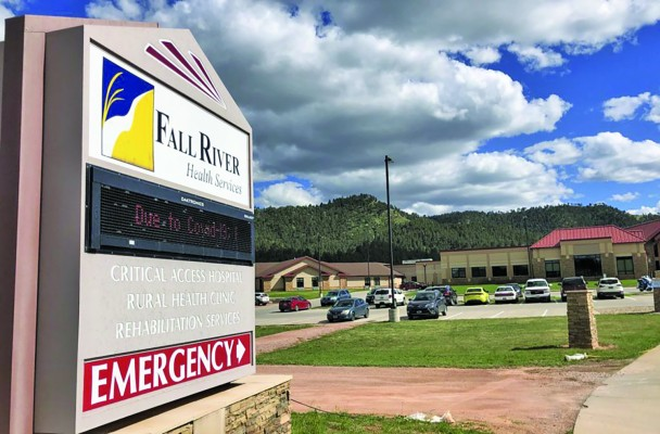 """Many areas of South Dakota are served by 38 """"Critical Access Hospitals"""" that receive federal funding to remain viable in small towns, including the privately run non-profit Fall River Health Services hospital in Hot Springs."""
