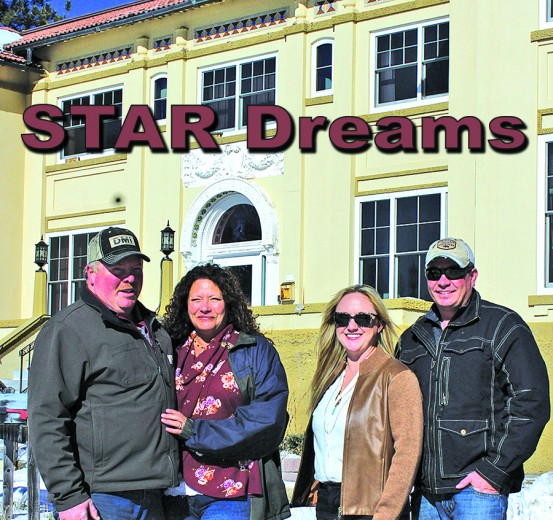 Purchasers of the former STAR Academy are, from left, Mark and Kim Nielsen and Haylee and Paul Vershure.