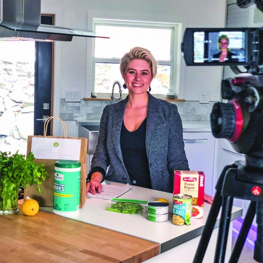 Dr. Rebecca Mielnik has created a home meal kit delivery service for those in need during the COVID-19 pandemic. Mielnik had already delivered 160 of the kits by press time Tuesday.